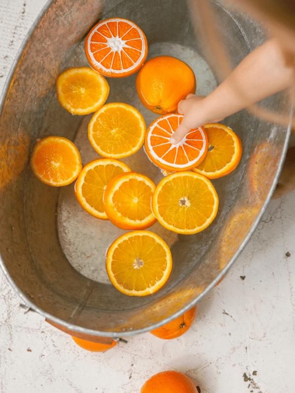 clementino l'orange jouet de dentition naturel