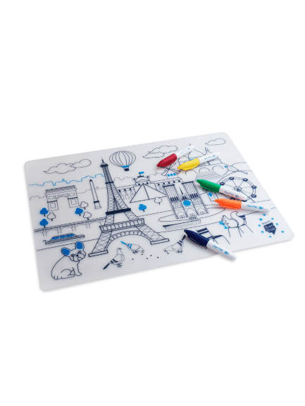 kit silicone set de table paris super petit