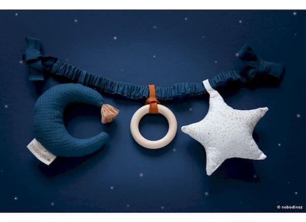 chaine d'activité star&moon nobodinoz berceau poussette tendance