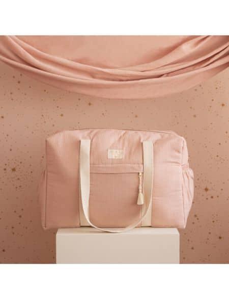 sac de maternité opera misty pink nobodinoz