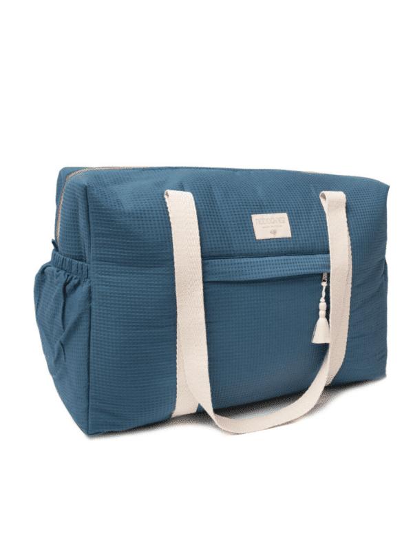 sac de maternité opéra night blue nobodinoz imperméable