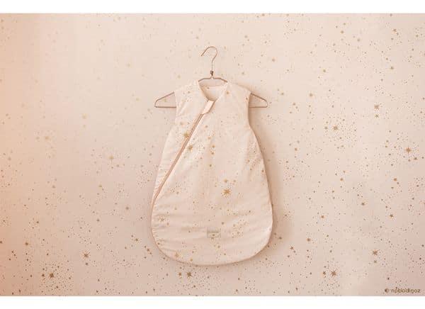 Gigoteuse mi saison Gold stella / Dream Pink Nobodinoz cadeau naissance utile