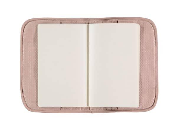 Protège carnet de santé Poema Misty Pink Nobodinoz