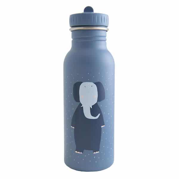 gourde mrs elephant bleu trixie enfant isotherme 500 ml
