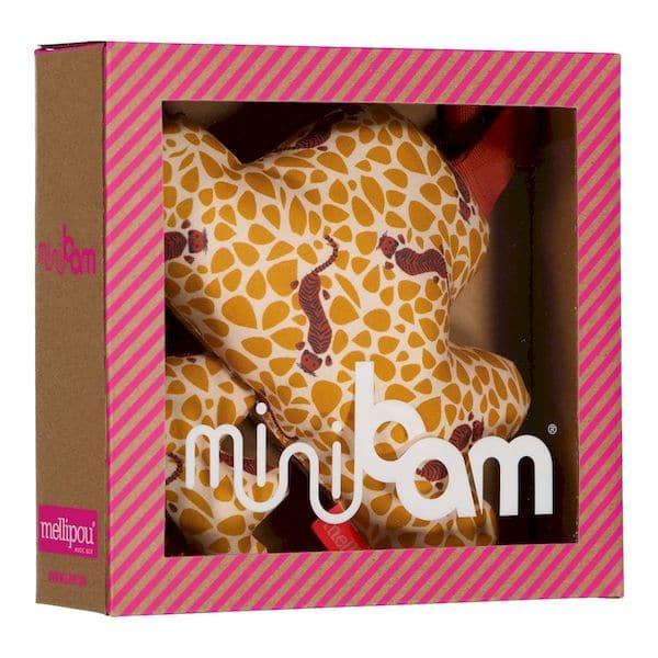 Coussin musical Minibam Alicia Stevie Wonder boite musique cadeau bebe