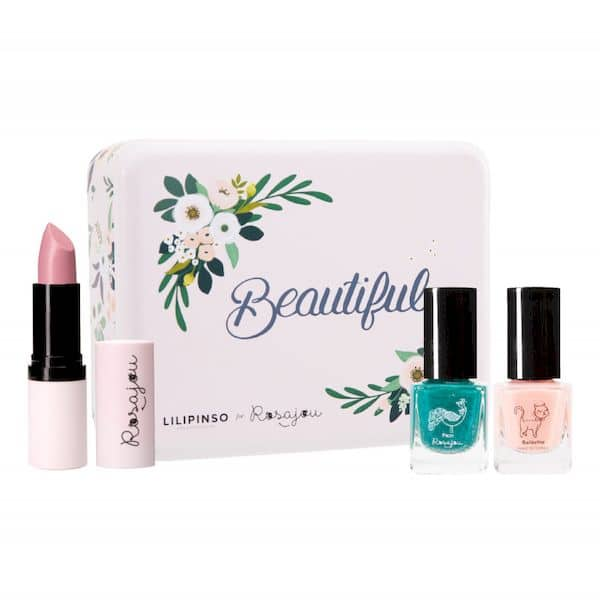 COFFRET maquillage Wonderland Rosajou maquillage enfant made in france bio
