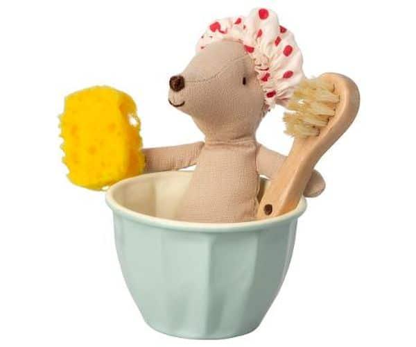 Souris au Spa Maileg wellness beauty jouet tendance enfant