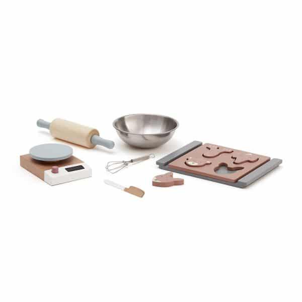 Set de Cuisine en bois Bistro - Kids Concept jouet en bois ustensile cuisine