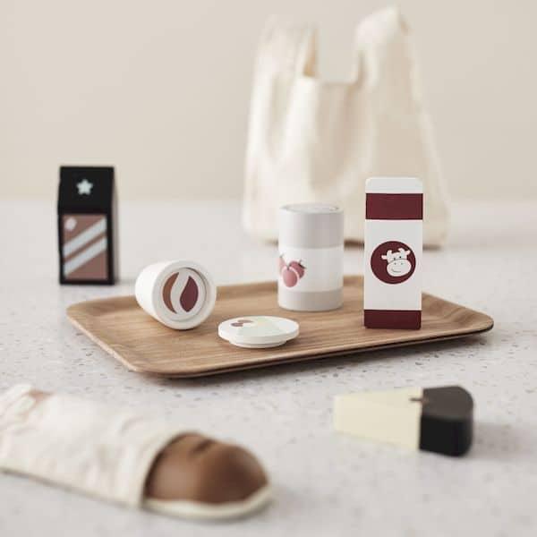 Sac + Provisions - Kids concept jouet enfant cuisine bois