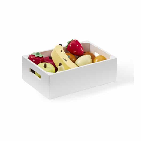 Caisse de fruits Mix - Kids concept JOUET EN BOIS tendance marchande