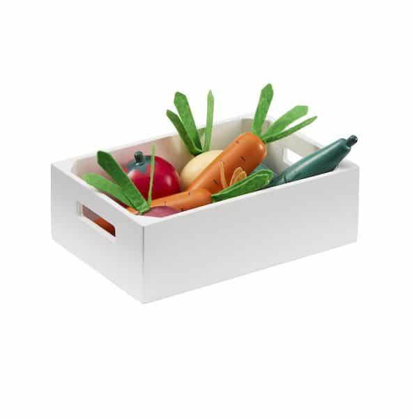 Caisse de légumes Mix - Kids concept jouet en bois marchande