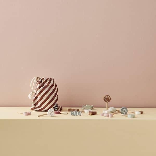 Set de Bonbons en Bois Bistro - Kids Concept jouet en bois cuisine