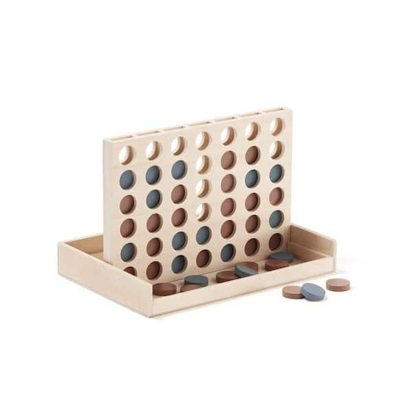 Puissance 4 - kid's concept jeux de société en bois tendance