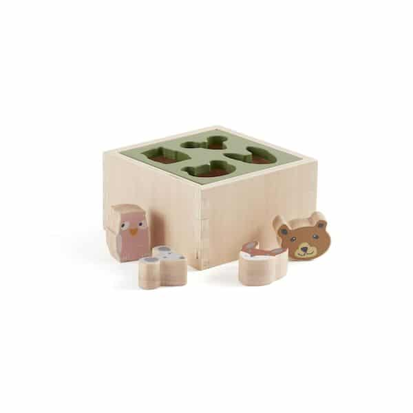 Assembler et trier Elvin - Kids concept jouet en bois tendance 1 an