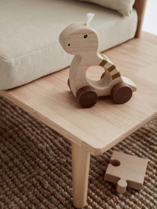 Jouets à trainer Dino Natural NEO - Kids concept jouet en bois 1 an