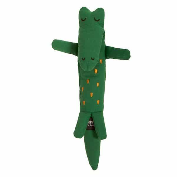 Doudou crocodile ROOMMATe idée cadeau de naissance bébé animaux