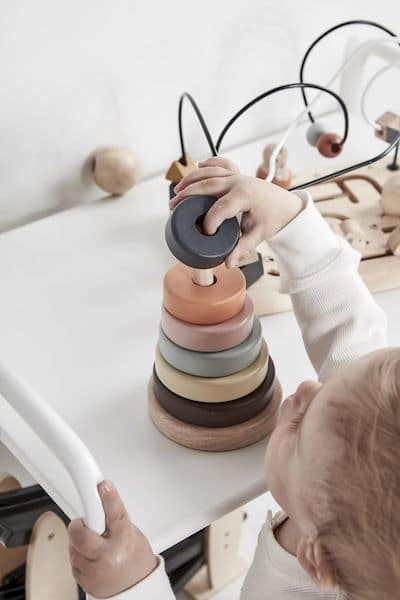 Anneaux superposables NEO - Kids concept Jeu en bois 1 an