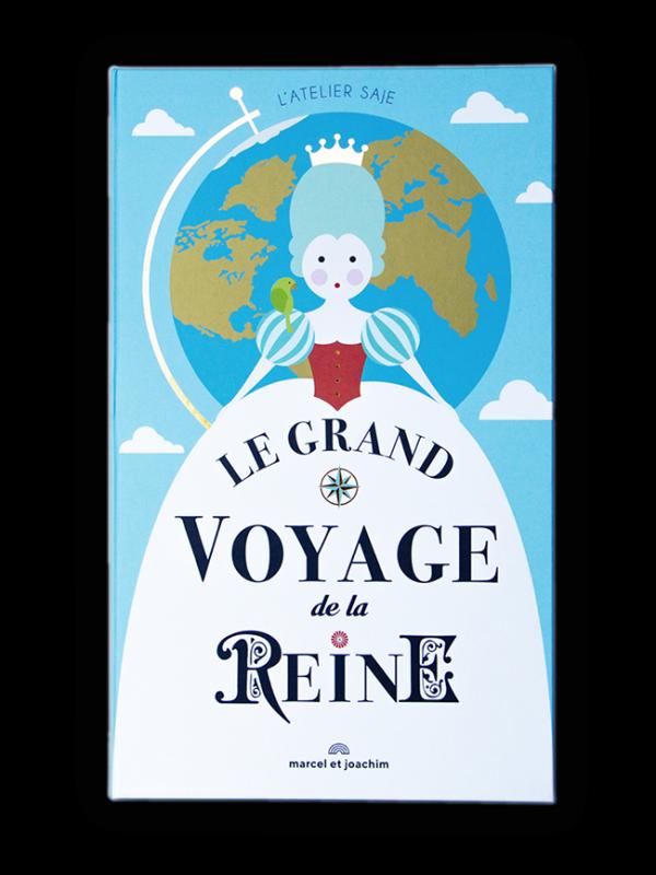 Livre Le grand voyage de la Reine Marcel & Joachim idée cadeau fille
