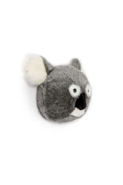Noah le koal peluche trophée décoration murale enfant wild and soft