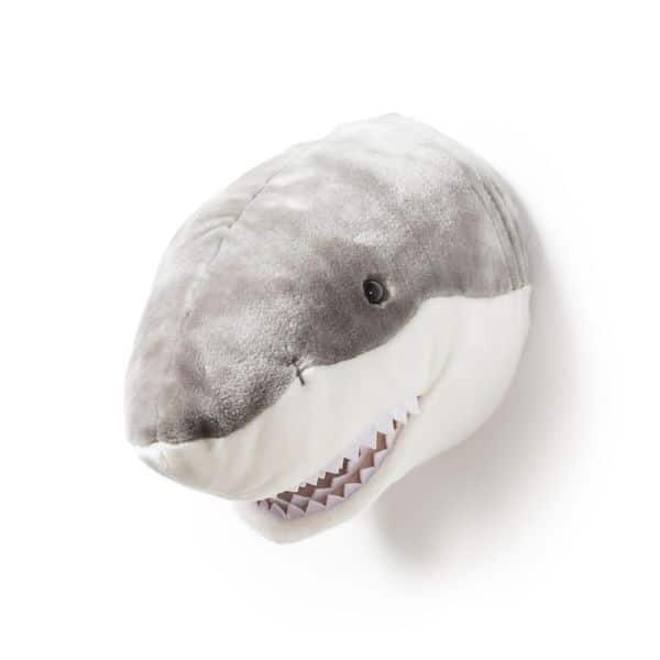 trophée peluche requin jack wild and soft décoration chambre enfant