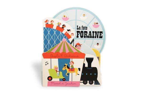 Livre La fête foraine Marcel & Joachim livre illustré bébé tendance