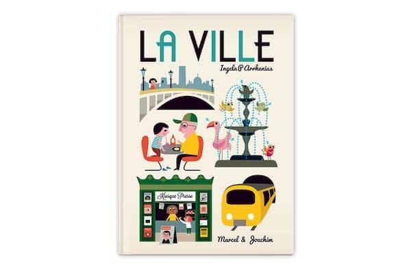 Livre La ville Marcel & joachim idée cadeau tendance bébé enfant