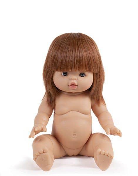 Poupée petite fille Capucine - Minikane jouet fille noel