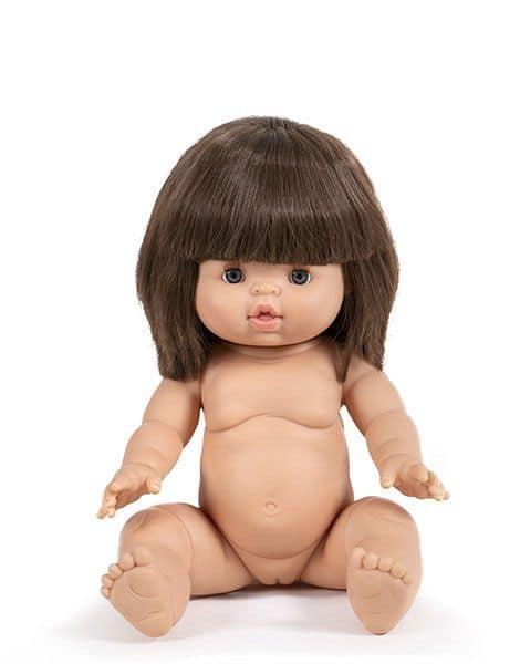 Poupée petite fille chloé - Minikane cadeau de noel fille tendance 2 3 ans