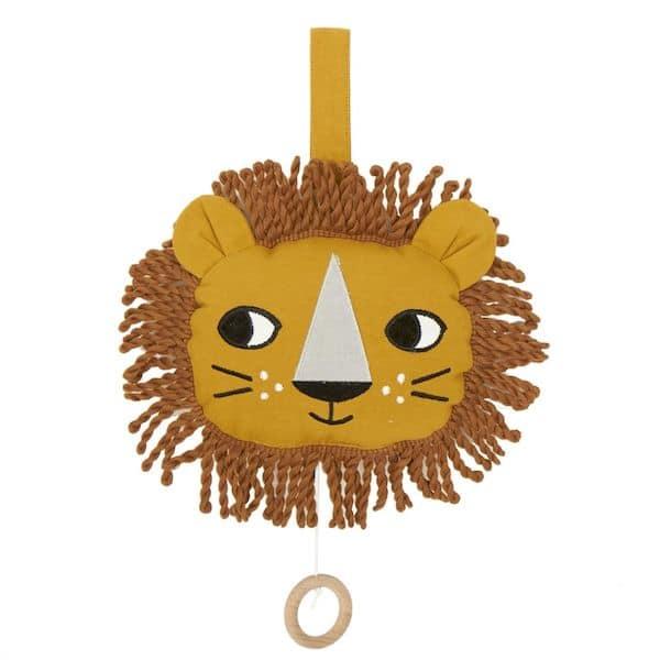 mobile musical lion roommate cadeau naissance bébé