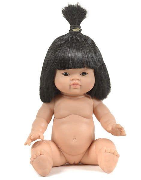 poupée petite fille asiatique jade minikane