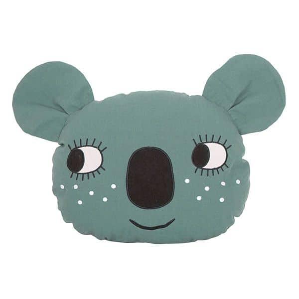 coussin koala roommate gris décoration de chambre enfant