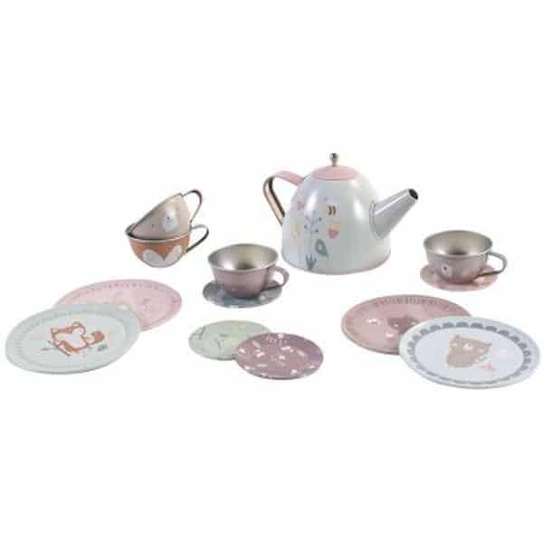 Service à thé Metal - Little dutch dinette cuisine