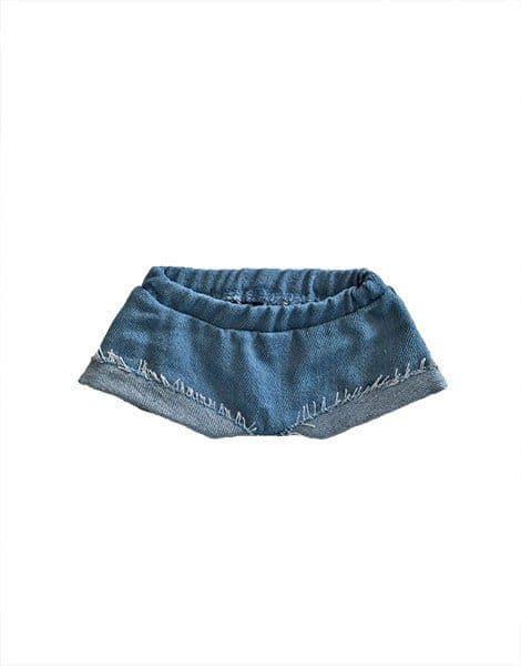 short en jean minikane tenue poupée minikane