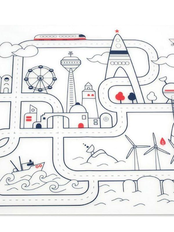 Kit à colorier silicone City Super Petit activité créative