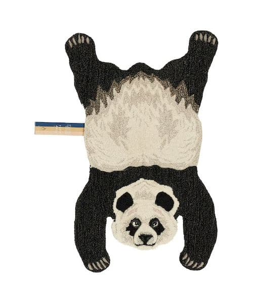 tapis enfant laine panda doing goods