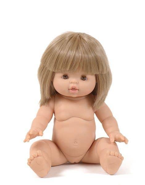 Poupée petite fille Zoé - Minikane tendance belle poupée