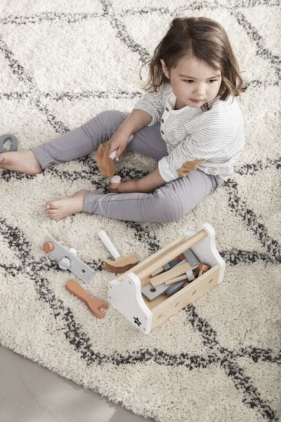 Boîte à outils Etoile naturel - Kids Concept jouet en bois