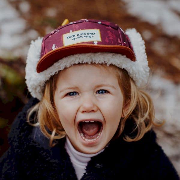 Casquette Forest Moumoute - Hello Hossy casquette hiver bonnet tendance enfant