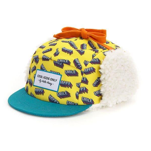 Casquette Happy Moumoute - Hello Hossy casquette hiver bonnet tendance enfant
