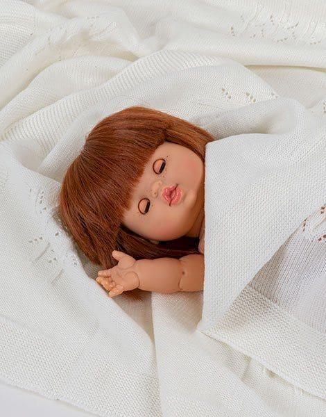 Poupée Capucine aux yeux dormeurs - Minikane rousse