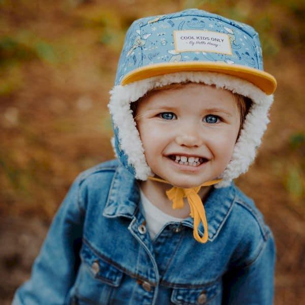 Casquette Fox Moumoute - - Hello Hossy casquette hiver bonnet tendance enfant