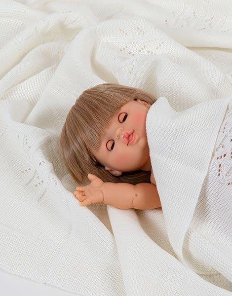 poupée zoé aux yeux dormeurs minikane