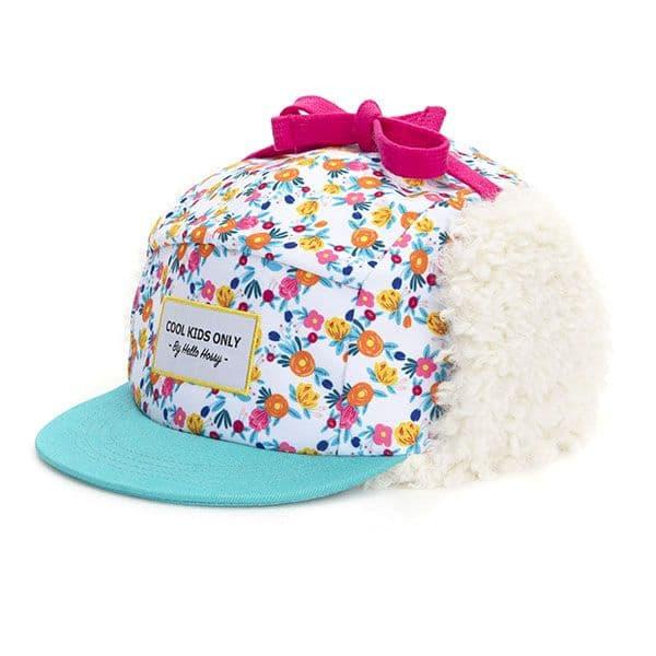Casquette Flowers Moumoute - Hello Hossy bonnet hiver tendance