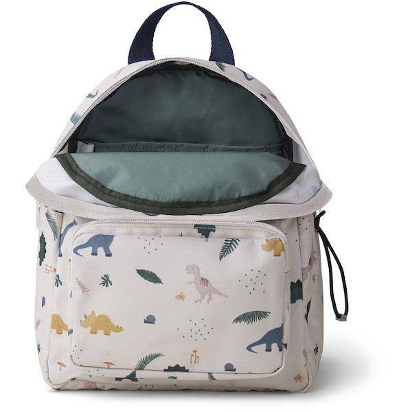 sac à dos saxo dino mix liewood polyester recyclé cadeau de naissance