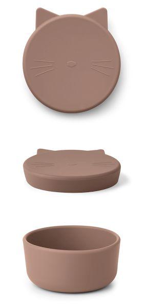 boite à collations cornelius silicone liewood goûter enfant