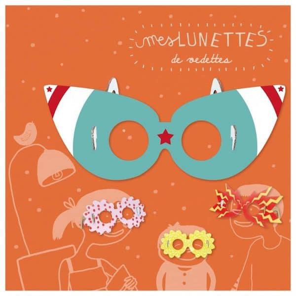 kit loisir créatif lunettes de star pirouette cachouète fabriqué en france papier recyclé