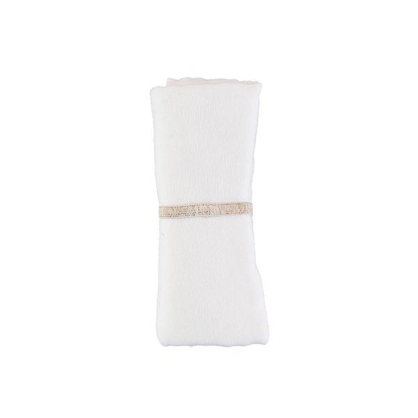 Lange Baby Love - White - Nobodinoz blanc idée cadeau de naissance tendance