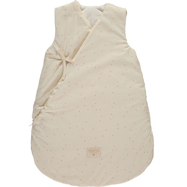 Gigoteuse d'hiver Cloud - Honey Sweet Dots Natural- Nobodinoz - 6-18 mois idée cadeau de naissance