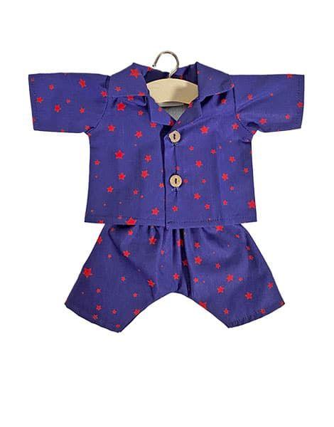"""Pyjama """"Albert"""" en coton Stars - Minikane tenue veteme,nt poupée minikane"""