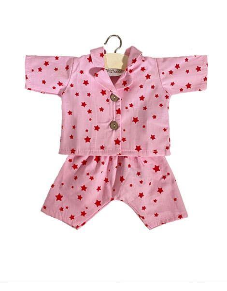 """Pyjama """"Laura"""" en coton Stars - Minikane tenue vetement poupée minikane"""